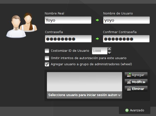 [Howto] Como agregar correctamente nuestro usuario durante la instalación de Pardus Linux 2011.1 Cap3